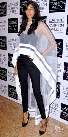 Anamika Khanna cape - like a super hero!