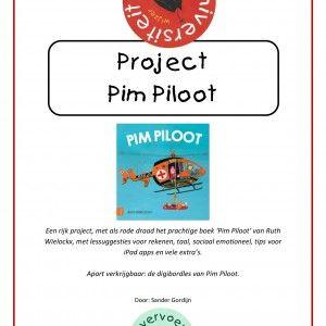 Een rijk project van maar liefst 107 pagina's, met als rode draad het prachtige boek 'Pim Piloot' van Ruth Wielockx. Het pakket zit vol met lessuggesties voor rekenen, taal, sociaal emotioneel, tips voor iPad apps en vele extra's.
