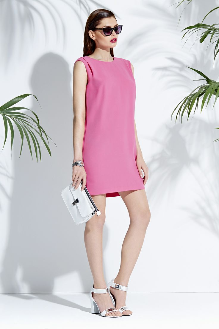 Feminine pink dress  #mohito #summer #fashion #pink
