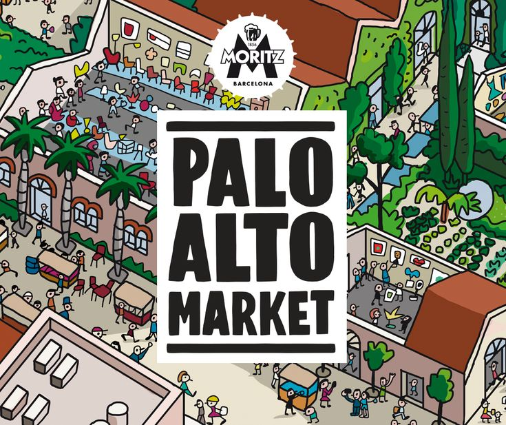 Creative market in Barcelona. Shopping, exhibitions and leisure at an spectacular spot. Food Trucks, contemporary and vintage design, street style, art, workshops and music.