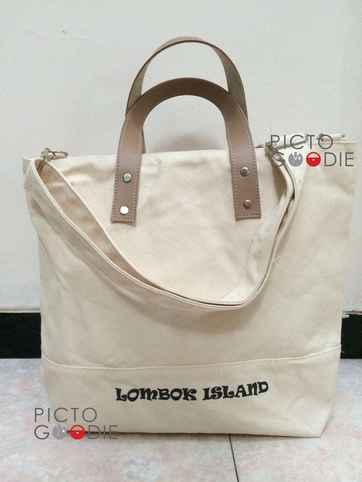 Tas Jinjing Selempang - Promosi Lombok Island