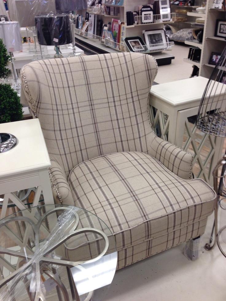 Homesense Plaid Chair Blue Master Bedroom Plaid Chair