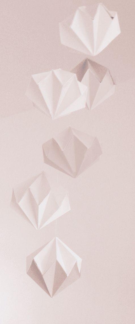 Papieren Diamanten Hanger
