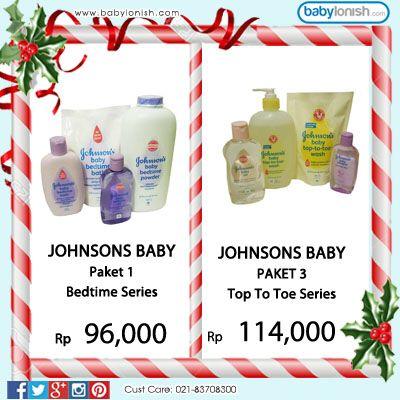 Dapatkan berbagai produk perawatan kulit bayi dari Johnson's.  Hanya di Babylonish.