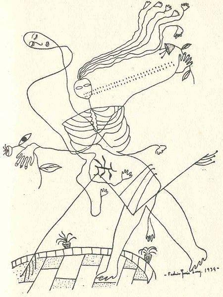Federico Garcia Lorca's Drawings