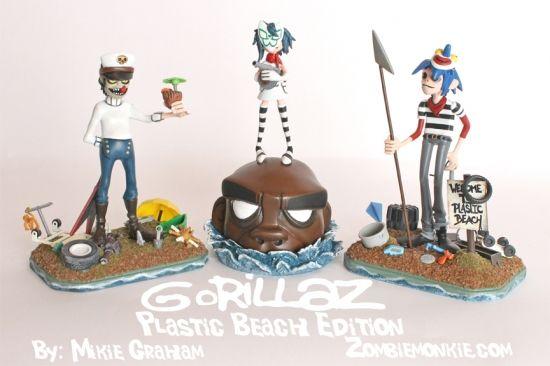 Mikie Graham's Plastic Beach Gorillaz Customs