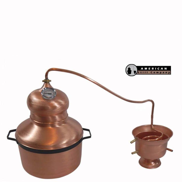 6 Gallon Traditional Onion Head Copper Pot Still