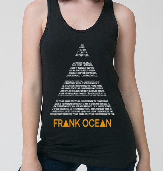 Frank Ocean Pyramids Tank-Top (Women) - CrewWear