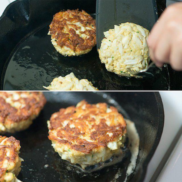Adam's Maryland-Style Crab Cake Recipe from Inspired Taste (www.inspiredtaste.net)