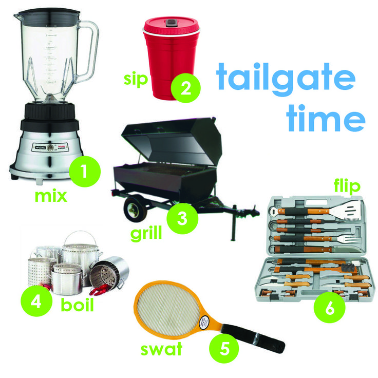 Tailgate Gear Guide for the Ultimate Fan! Gear up and head on out for the 2013 season kick off! http://www.katom.com/learning-center/gear-up-for-tailgating-across-the-country.html