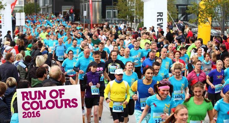 Run of Colours: Bunter Lauf durch den Rheinauhafen zu Gunsten der Aidshilfe Köln… #Freizeit_Kultur #Life #Sport_Gesundheit #1_FC_Köln #Aids
