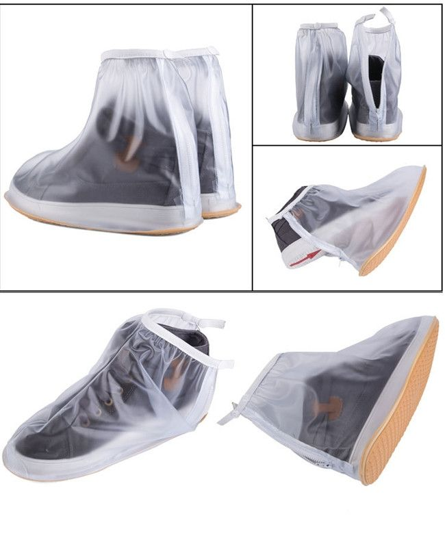 1Pair Waterproof Rain Shoes Cover Men Cycle Rain Boots Flat Slip resistant Overshoes Rain Gear Shoes Protect RD673339-in Shoes Covers from Shoes on Aliexpress.com | Alibaba Group