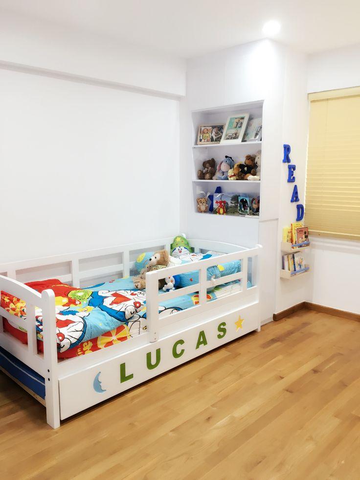 Bedroom, toddler, reading corner, quiet time, ikea hack