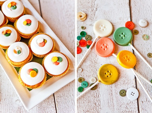 sweet button first birthday party