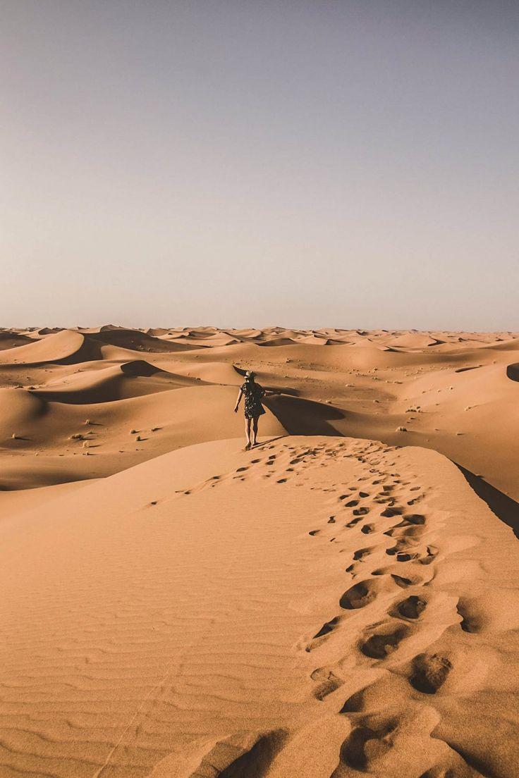Roadtrip 4x4 aménagé -Le désert du Maroc : les dunes sublimes du désert de M'hamid - Un lieu à mettre dans votre bucket list absolument !