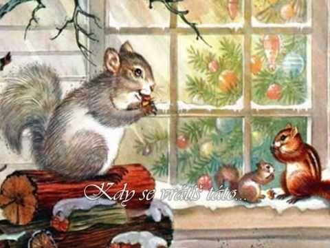 ♥♥♥ Kdy se vrátíš táto....Vánoční♥♥♥