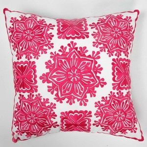 (73) Fab.com   Mesmerizing Poufs And Pillows Love, embroidered hot pink pillow case moroccan motif