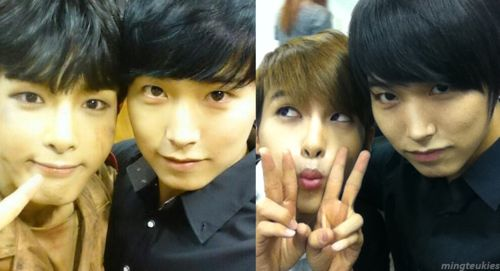 SUPER JUNIOR | Kim Ryeowook and Lee Sungmin