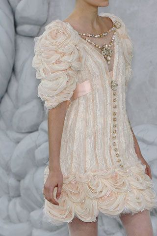 The sleeves on this dress are amazing...as is the dress! Chanel