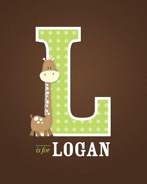 L alphabet name for boy