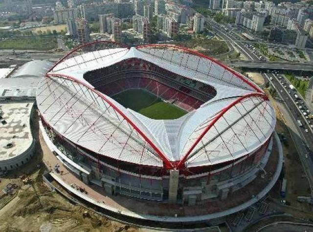 Estádio da Luz. Sport Lisboa e Benfica. Portugal.