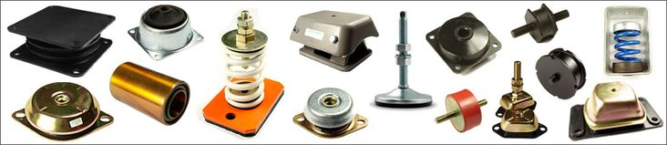 Anti Vibration Mounts - General Purpose mountings, where a Male / Male Fixing is preferred : http://goo.gl/JrNKrt