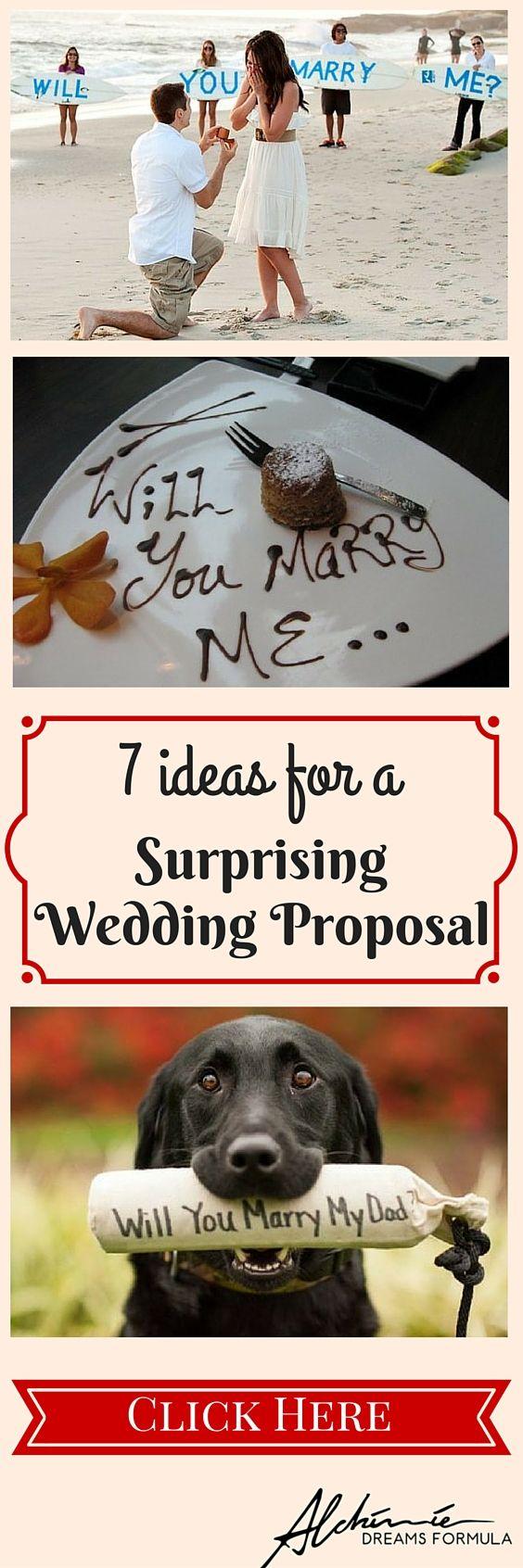 Wedding Proposal: When Everything Begins