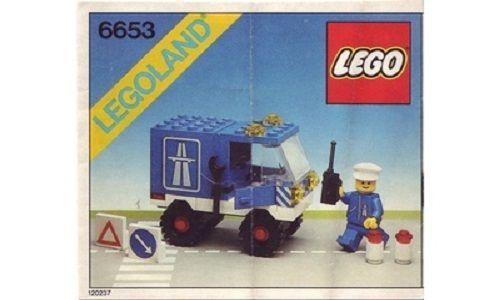 RARE New Lego Set 6653(6653-1) Highway Maintenance Truck Emergency Van-Sealed