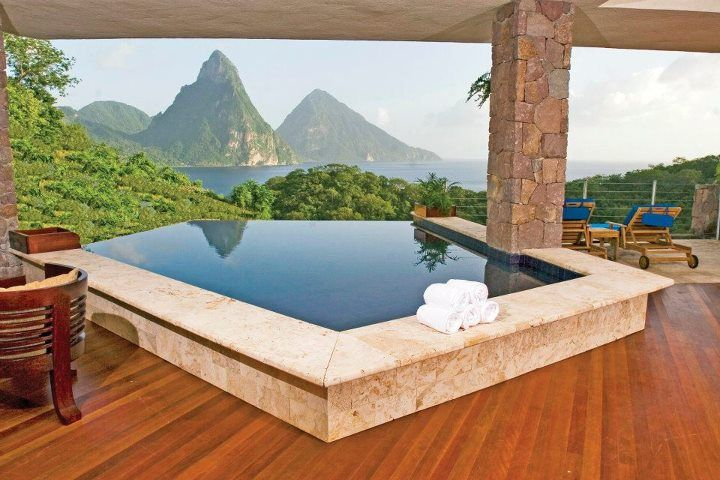 Jade Mountain, St Lucia: Buckets Lists, Jade Mountain, Dreams Vacations, Beautiful Places, Hot Tubs, Outdoor Spaces, Pools, Canada Vacations, Heavens