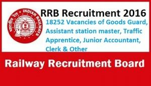 RRB has released recruitment notification to appoint eligible candidates for 18252 RRB Non Technical Graduate Recruitment 2016. All Graduate candidates can apply for RRB Group C & D Recruitment 2016.