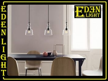 Pendant light Adelina 7281 small glass EDEN LIGHT