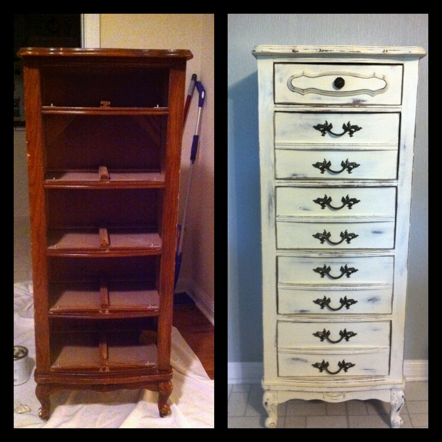 Before And After Furniture Love Pinterest Paint