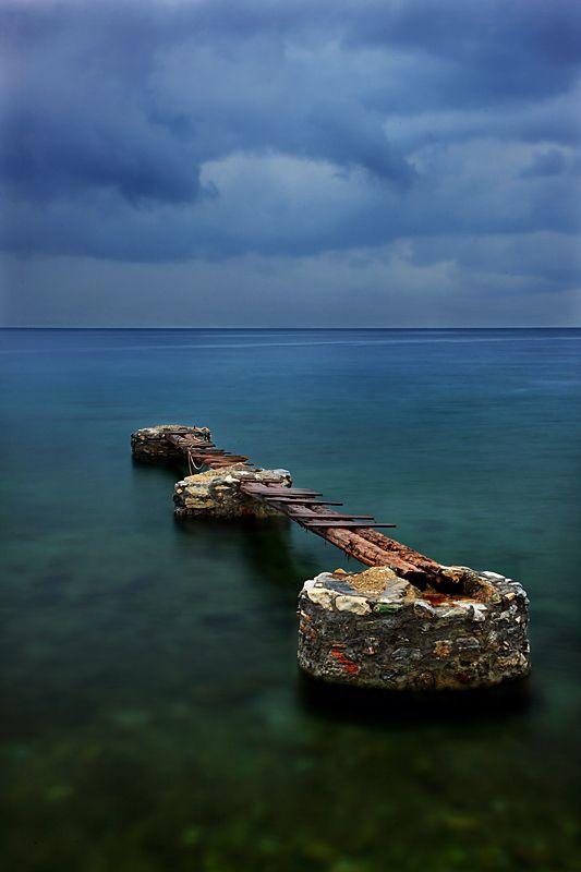 """""""Broken Violin of the Sea"""" Kato Gatzea - Magnisia, Greece / by Cretense"""