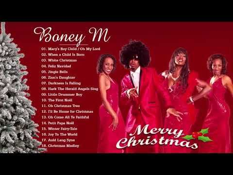 Boney M - Christmas Album 2018 - Merry Christmas Songs - YouTube