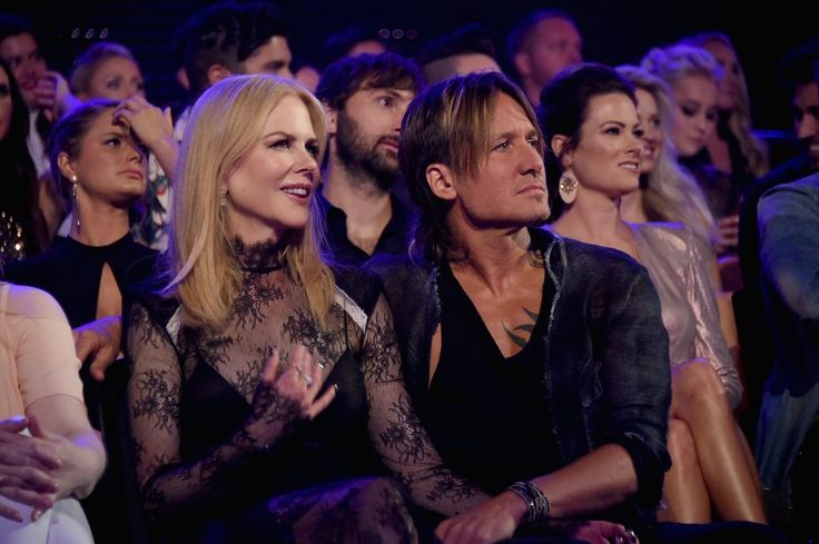 Keith Urban and Nicole Kidman at the 2017 CMT Awards | POPSUGAR Celebrity