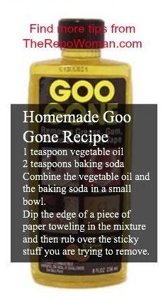 Homemade Goo Gone Recipe