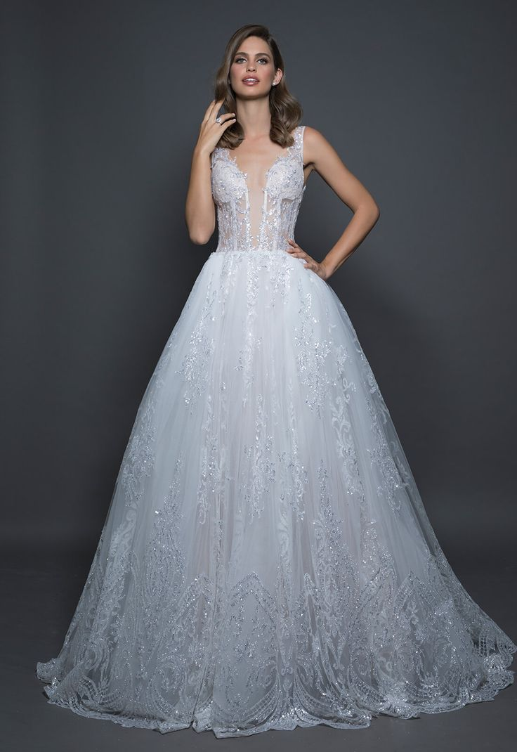 The 698 best WEDDING DRESSES images on Pinterest | Wedding gown lace ...