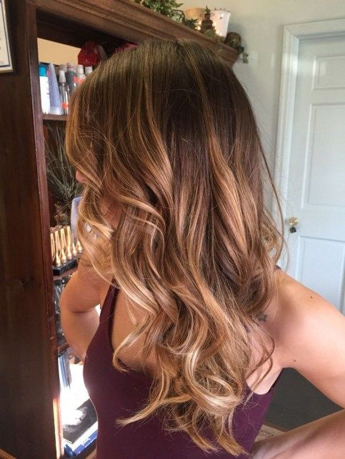 Gorgeous fall hair color for brunettes ideas (61)