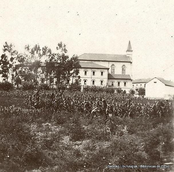Primitivo convento e iglesia de los Trinitarios (Colección Trinitarios de Algorta) (ref. 01785)
