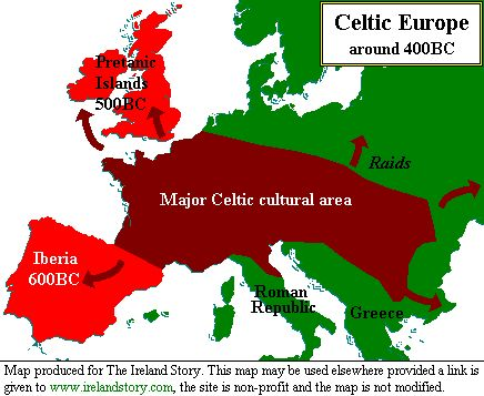 Celtic History, Lore, Fact & Fun - Traveling within the World