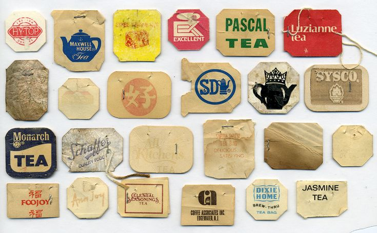 vintage teabags
