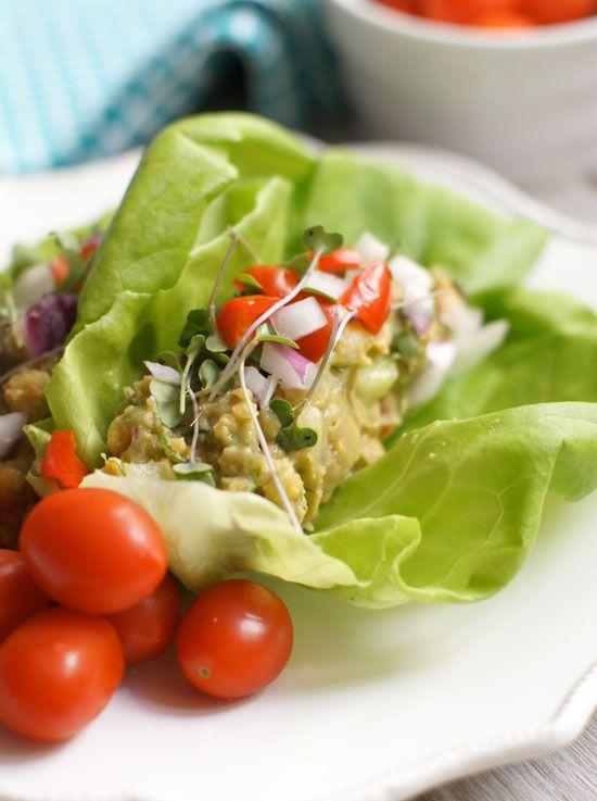 "Chickpea & Avocado ""Egg"" Salad (Vegan, Soy-free, Nut-free) « Detoxinista"