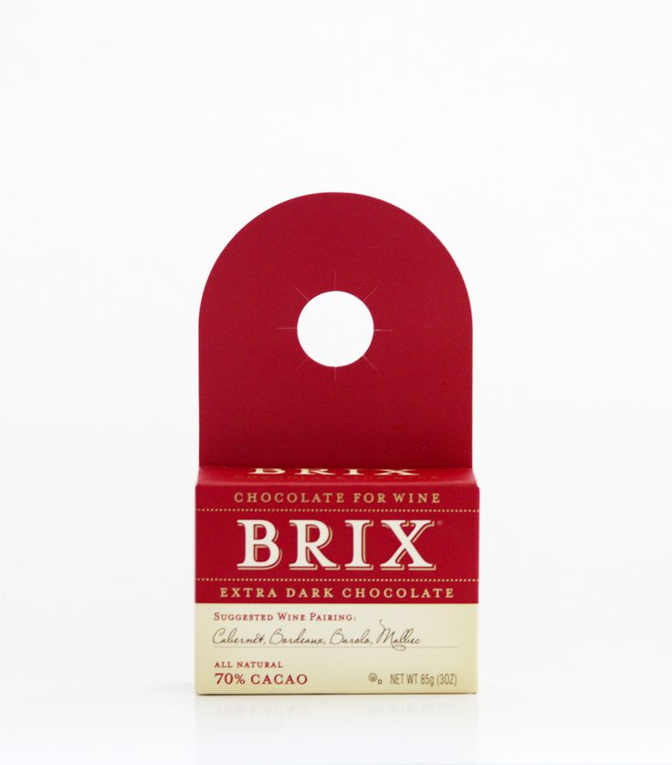 Brix 3oz Bar – Extra Dark  SUGGESTED WINE PARINGS: Cabernet Sauvignon, Bordeaux…