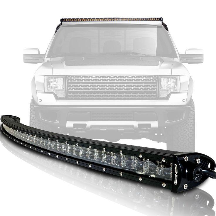GEN-CUR33-2009-2015-Ford-F150-2010-2015-Ford-F150-SVT-Raptor-Curved-288W LED Light Bar