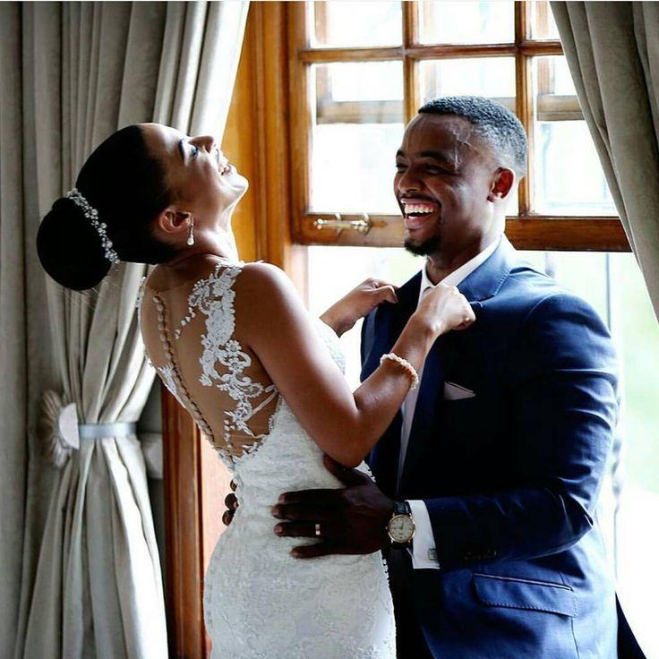 When he makes you laugh... #MorningMuses  @estilo_photography via @nubianbridemag