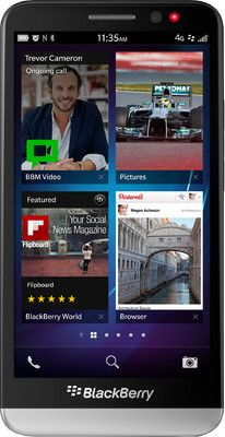 Blackberry Z 30 Black 16 GB Price, Specifications, features and Reviews.