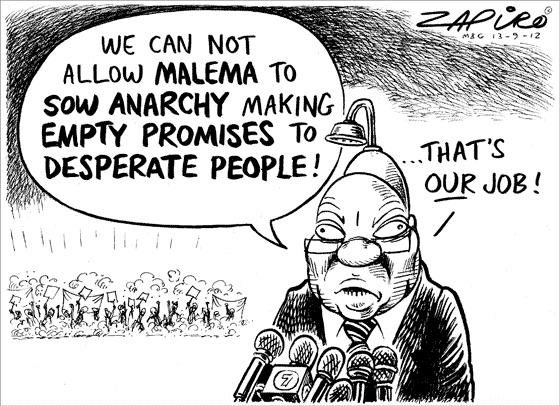 Zapiro: Zuma-Malema - Mail & Guardian