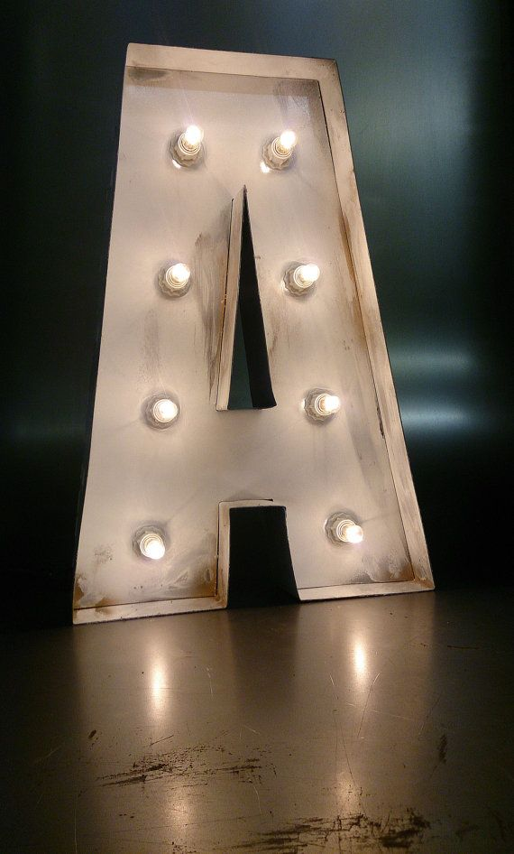 White Metal Letters Brilliant 35 Best Bobcoolshop Uk Images On Pinterest  Bulb Letters And Bobs Review