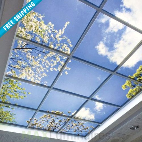 LED Virtual Mood Skylight LED Panel LED wall light panel #150-200 #all-commercial-led #led-panel-light