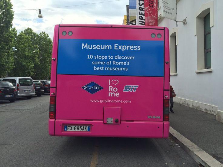 #MuseumExpress #HopOnHopOff #Travel #Rome #Roma #ILoveRome #FindAReasonToGo #Italy #TravelBug #Wanderlust
